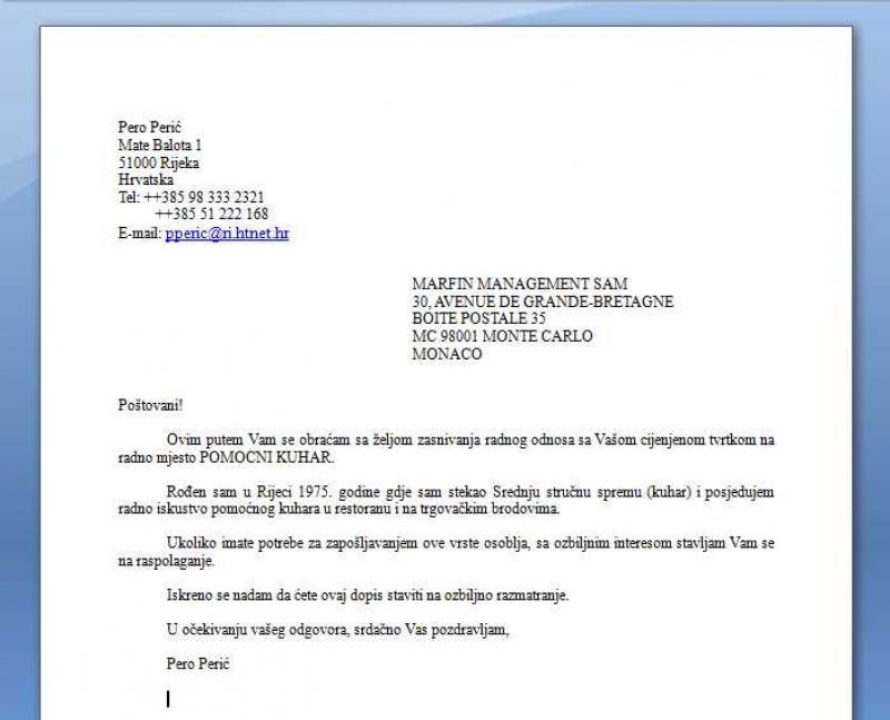 Hrvatskom engleskom i dopisivanje pdf na poslovno Poslovno dopisivanje